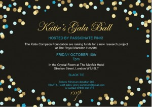 Katie's Ball Invitation